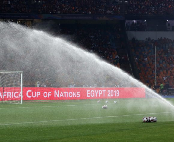 Total signage 3D boards during the 2019 Africa Cup of Nations Finals Uganda and Egypt at Cairo International Stadium, Cairo, Egypt on 30 June 2019 ©Samuel Shivambu/BackpagePix