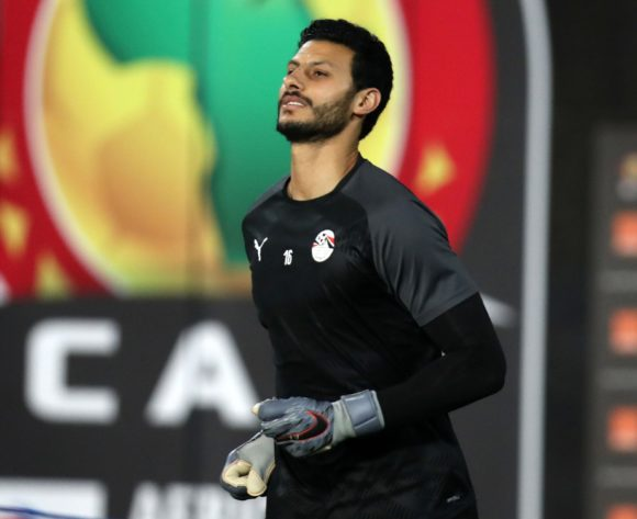 Mohamed El Shenawy of Egypt going to warm up during the 2019 Africa Cup of Nations Finals Uganda and Egypt at Cairo International Stadium, Cairo, Egypt on 30 June 2019 ©Samuel Shivambu/BackpagePix
