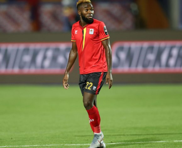 Abdu Lumala of Uganda during the 2019 Africa Cup of Nations Finals Uganda and Egypt at Cairo International Stadium, Cairo, Egypt on 30 June 2019 ©Samuel Shivambu/BackpagePix