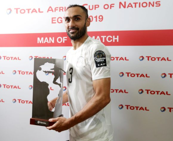 Ahmed El Mohamady of Egypt wins Total Man of the Match Award during the 2019 Africa Cup of Nations Finals Uganda and Egypt at Cairo International Stadium, Cairo, Egypt on 30 June 2019 ©Samuel Shivambu/BackpagePix