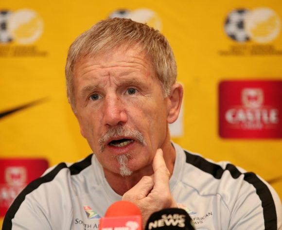 Stuart Baxter, coach of South Africa during the 2019 Africa Cup of Nations South Africa Team Announcement at the Monte Casino, Johannesburg on the 09 June 2019 ©Muzi Ntombela/BackpagePix