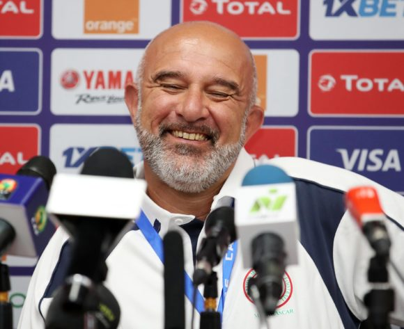 Nicolas Dupuis, coach of Madagascar during the 2019 Africa Cup of Nations Finals Madagascar Press Conference at the Alexandria Stadium, Alexandria on the 21 June 2019 ©Muzi Ntombela/BackpagePix