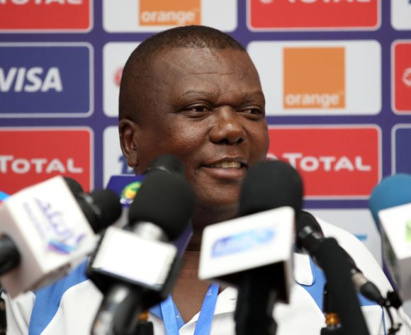 Olivier Niyungeko, coach of Burundi during the 2019 Africa Cup of Nations Finals Burundi Press Conference at the Alexandria Stadium, Alexandria on the 21 June 2019 ©Muzi Ntombela/BackpagePix