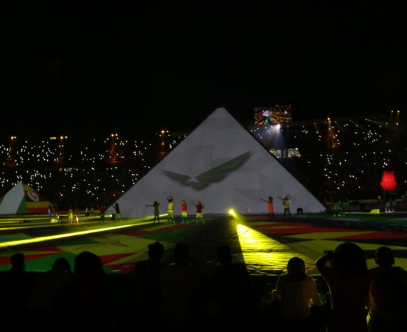 Opening Ceremony during the 2019 Africa Cup of Nations Finals match between Egypt and Zimbabwe at Cairo International Stadium, Cairo, Egypt on 21 June 2019 ©Samuel Shivambu/BackpagePix