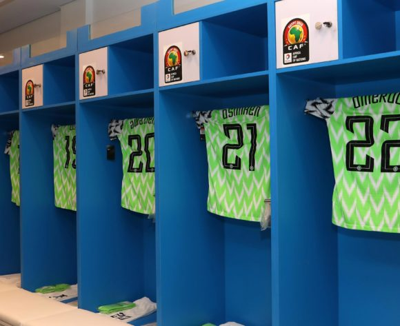 Nigeria dressing room during the 2019 Africa Cup of Nations Finals match between Nigeria and Burundi at the Alexandria Stadium, Alexandria on the 22 June 2019 ©Muzi Ntombela/BackpagePix