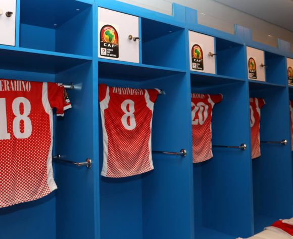 Burundi dressing room during the 2019 Africa Cup of Nations Finals match between Nigeria and Burundi at the Alexandria Stadium, Alexandria on the 22 June 2019 ©Muzi Ntombela/BackpagePix