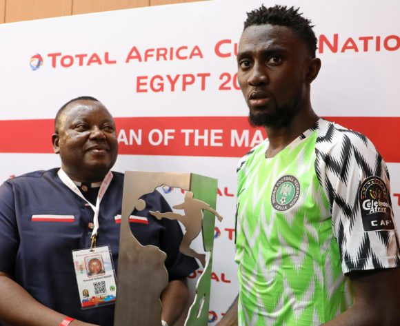 Man of the match Wilfred Ndidi of Nigeria during the 2019 Africa Cup of Nations Finals match between Nigeria and Burundi at the Alexandria Stadium, Alexandria on the 22 June 2019 ©Muzi Ntombela/BackpagePix