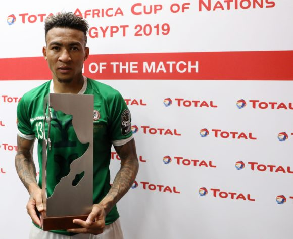 Man of the match Anicet Andrianantenaina of Madagascar during the 2019 Africa Cup of Nations Finals match between Guinea and Madagascar at the Alexandria Stadium, Alexandria on the 22 June 2019 ©Muzi Ntombela/BackpagePix