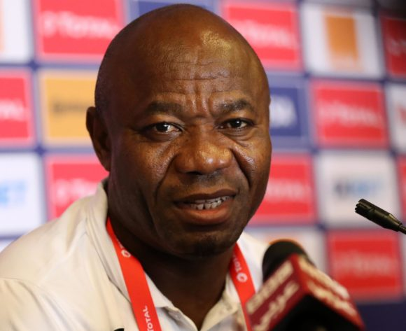 Emmanuel Amunike, coach of Tanzania during the 2019 Africa Cup of Nations Finals Tanzania press conference at 30 June Stadium, Cairo, Egypt on 22 June 2019 ©Samuel Shivambu/BackpagePix