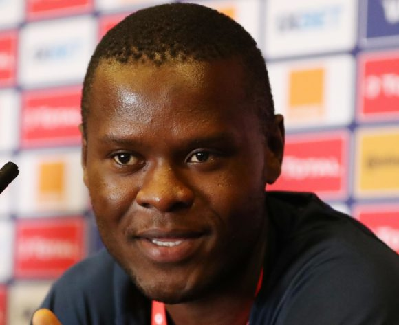 Mbwana Samatta of Tanzania during the 2019 Africa Cup of Nations Finals Tanzania press conference at 30 June Stadium, Cairo, Egypt on 22 June 2019 ©Samuel Shivambu/BackpagePix
