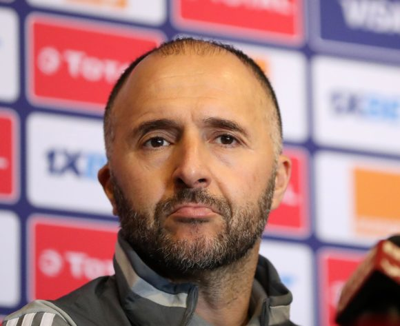 Djamel Belmadi, coach of Algeria during the 2019 Africa Cup of Nations Finals Algeria press conference at 30 June Stadium, Cairo, Egypt on 22 June 2019 ©Samuel Shivambu/BackpagePix