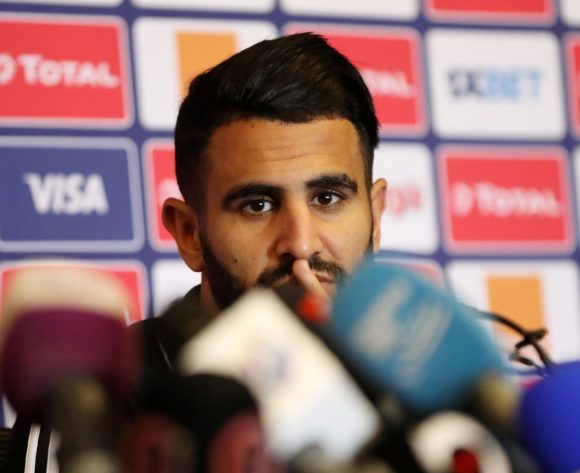 Riyad Mahrez of Algeria during the 2019 Africa Cup of Nations Finals Algeria press conference at 30 June Stadium, Cairo, Egypt on 22 June 2019 ©Samuel Shivambu/BackpagePix