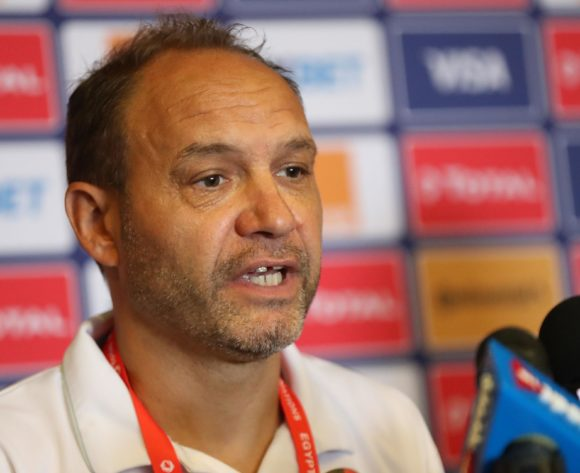 Sebastien Migne, coach of Kenya during the 2019 Africa Cup of Nations Finals Kenya press conference at 30 June Stadium, Cairo, Egypt on 22 June 2019 ©Samuel Shivambu/BackpagePix