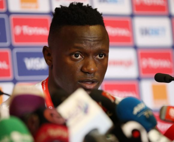 Victor Wanyama of Kenya during the 2019 Africa Cup of Nations Finals Kenya press conference at 30 June Stadium, Cairo, Egypt on 22 June 2019 ©Samuel Shivambu/BackpagePix
