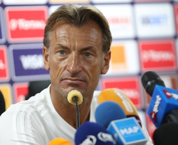 Herve Renard, coach of Morocco during the 2019 Africa Cup of Nations Finals Morocco press conference at 30 June Stadium, Cairo, Egypt on 22 June 2019 ©Samuel Shivambu/BackpagePix