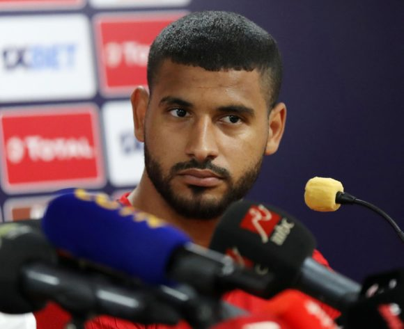 Youssef Bennasser of Morocco during the 2019 Africa Cup of Nations Finals Morocco press conference at 30 June Stadium, Cairo, Egypt on 22 June 2019 ©Samuel Shivambu/BackpagePix