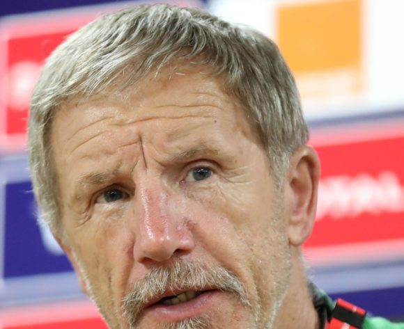 Stuart Baxter, coach of South Africa during the 2019 Africa Cup of Nations Finals South Africa press conference at AL- Salaam Stadium, Cairo, Egypt on 22 June 2019 ©Samuel Shivambu/BackpagePix