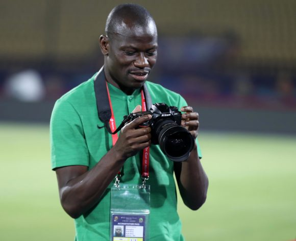 Hlompho Kekana of South Africa during the 2019 Africa Cup of Nations Finals South Africa Training at AL- Salaam Stadium, Cairo, Egypt on 22 June 2019 ©Samuel Shivambu/BackpagePix