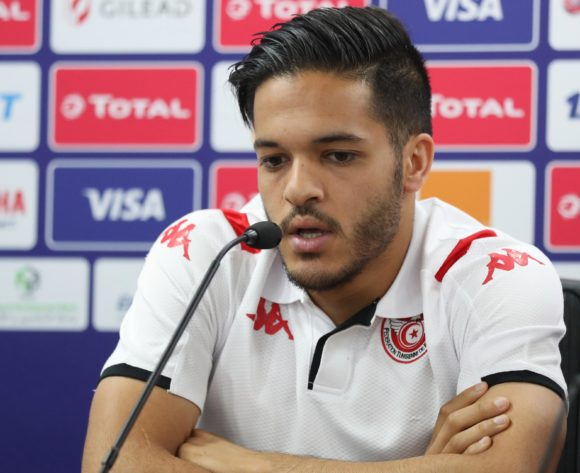 Wajdi Kechrida of Tunisia addresses media during the 2019 Africa Cup of Nations Finals Tunisia Press Conference at the Suez Stadium, Suez, Egypt on 23 June 2019 ©Gavin Barker/BackpagePix