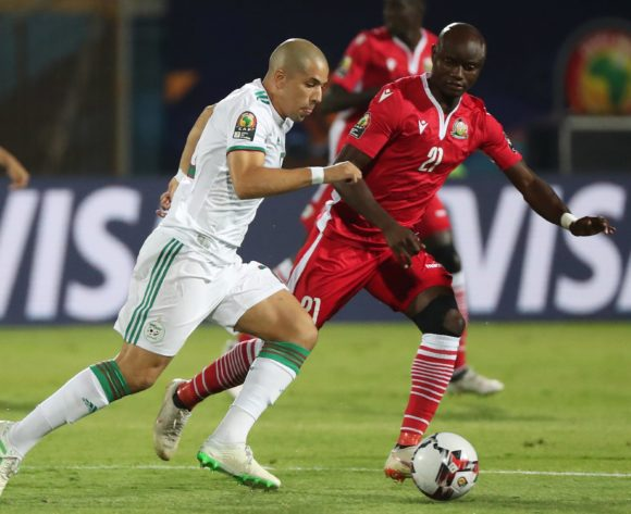Sofiane Feghouli of Algeria during the 2019 Africa Cup of Nations Finals football match between Algeria and Kenya at 30 June Stadium, Cairo, Egypt on 23 June 2019 ©Gavin Barker/BackpagePix