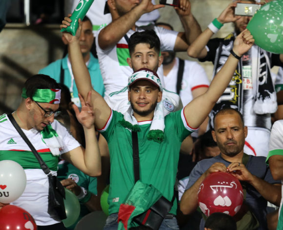 Algeria fans during the 2019 Africa Cup of Nations Finals football match between Algeria and Kenya at 30 June Stadium, Cairo, Egypt on 23 June 2019 ©Samuel Shivambu/BackpagePix