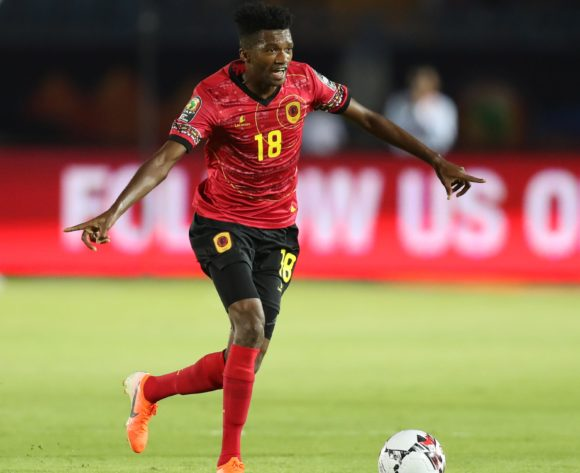 Herenilson de Carmo of Angola during the 2019 Africa Cup of Nations Finals football match between Tunisia and Angola at Suez Army Stadium, Suez, Egypt on 24 June 2019 ©Samuel Shivambu/BackpagePix
