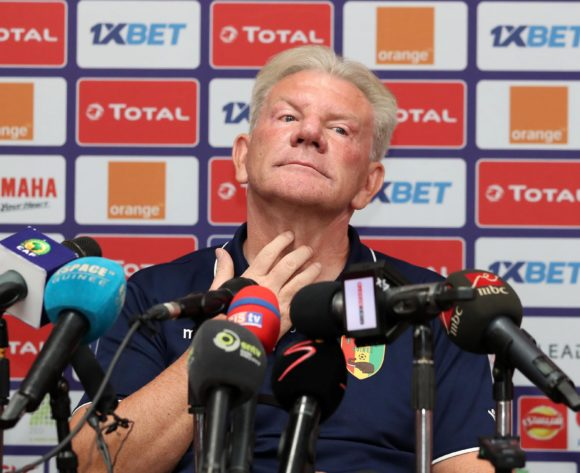 Paul Put, coach of Guinea during the 2019 Africa Cup of Nations Finals Guinea Press Conference at the Alexandria Stadium, Alexandria on the 25 June 2019 ©Muzi Ntombela/BackpagePix