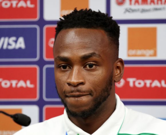 Saido Berahino of Burundi during the 2019 Africa Cup of Nations Finals Burundi Press Conference at the Alexandria Stadium, Alexandria on the 25 June 2019 ©Muzi Ntombela/BackpagePix