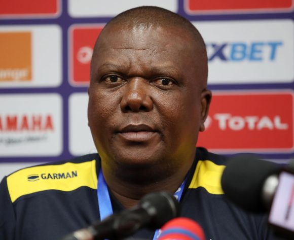 Olivier Niyungeko, coach of Burundi during the 2019 Africa Cup of Nations Finals Burundi Press Conference at the Alexandria Stadium, Alexandria on the 25 June 2019 ©Muzi Ntombela/BackpagePix