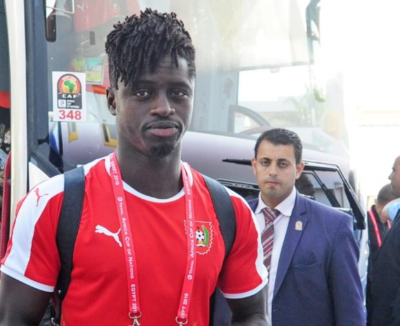 Guinea-Bissau players arrive shortly before the 2019 Africa Cup of Nations Finals game between Cameroon and Guinea-Bissau at Ismailia Stadium in Ismailia, Egypt on 25 June 2019 © Ryan Wilkisky/BackpagePix