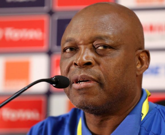 Sunday Chidzambwa, coach of Zimbabwe during the 2019 Africa Cup of Nations Finals Zimbabwe press conference at Cairo International Stadium, Cairo, Egypt on 25 June 2019 ©Samuel Shivambu/BackpagePix