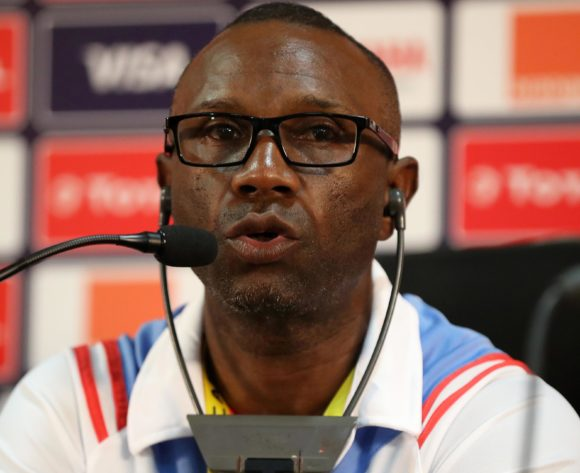 Florent Ibenge, coach of Dr Congo during the 2019 Africa Cup of Nations Finals Dr Congo press conference at Cairo International Stadium, Cairo, Egypt on 25 June 2019 ©Samuel Shivambu/BackpagePix