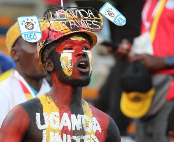 Uganda Fans during the 2019 Africa Cup of Nations Finals football match between Uganda and Zimbabwe at the Cairo International Stadium, Cairo, Egypt on 26 June 2019 ©Gavin Barker/BackpagePix