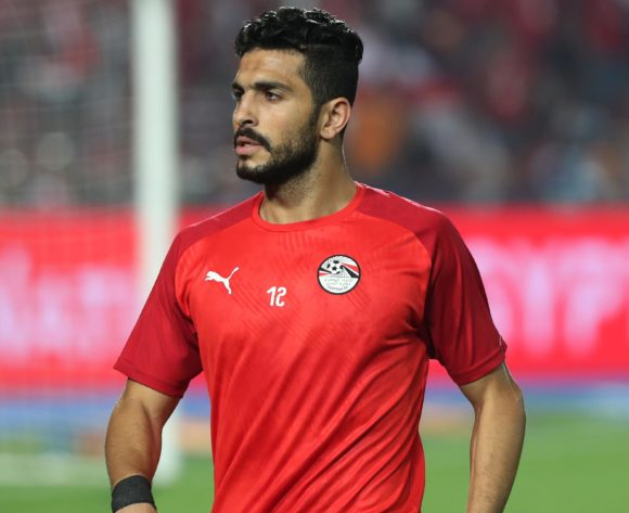 Ayman Ashraf of Egypt during the 2019 Africa Cup of Nations Finals football match between Egypt and DR Congo at the Cairo International Stadium, Cairo, Egypt on 26 June 2019 ©Gavin Barker/BackpagePix