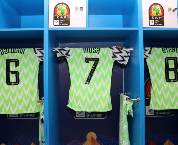 Gv of Nigeria dressing room during the 2019 Africa Cup of Nations match between Nigeria and Guinea at the Alexandria Stadium, Alexandria on the 26 June 2019 ©Muzi Ntombela/BackpagePix