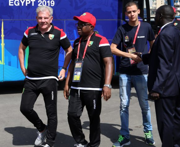 Paul Put, coach of Guinea during the 2019 Africa Cup of Nations match between Nigeria and Guinea at the Alexandria Stadium, Alexandria on the 26 June 2019 ©Muzi Ntombela/BackpagePix