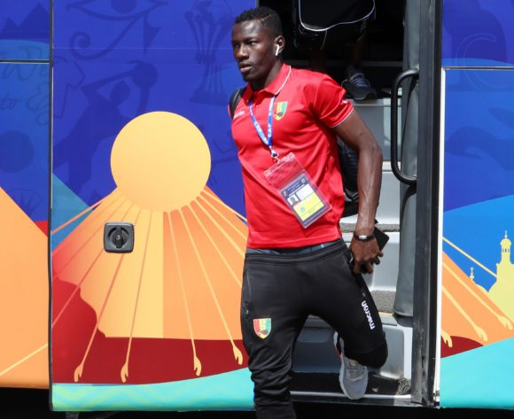 Mohamed Mady Camara of Guine during the 2019 Africa Cup of Nations match between Nigeria and Guinea at the Alexandria Stadium, Alexandria on the 26 June 2019 ©Muzi Ntombela/BackpagePix