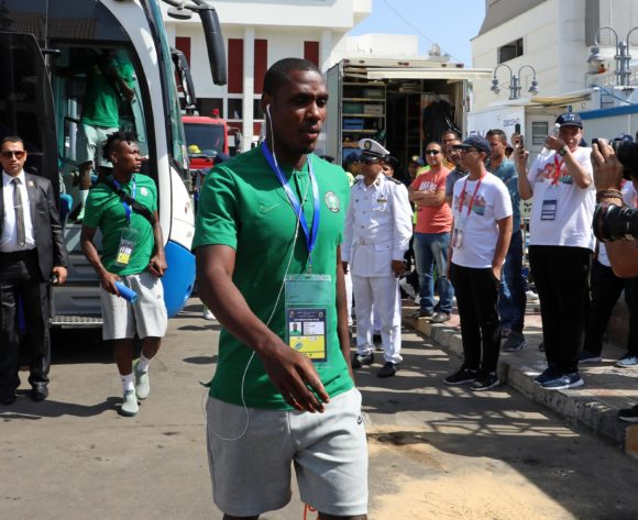 Odion Jude Ighalo of Nigeria during the 2019 Africa Cup of Nations match between Nigeria and Guinea at the Alexandria Stadium, Alexandria on the 26 June 2019 ©Muzi Ntombela/BackpagePix