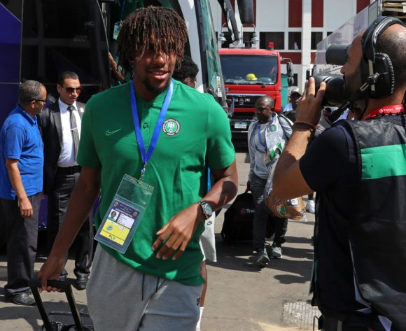 Alexander Iwobi of Nigeria during the 2019 Africa Cup of Nations match between Nigeria and Guinea at the Alexandria Stadium, Alexandria on the 26 June 2019 ©Muzi Ntombela/BackpagePix