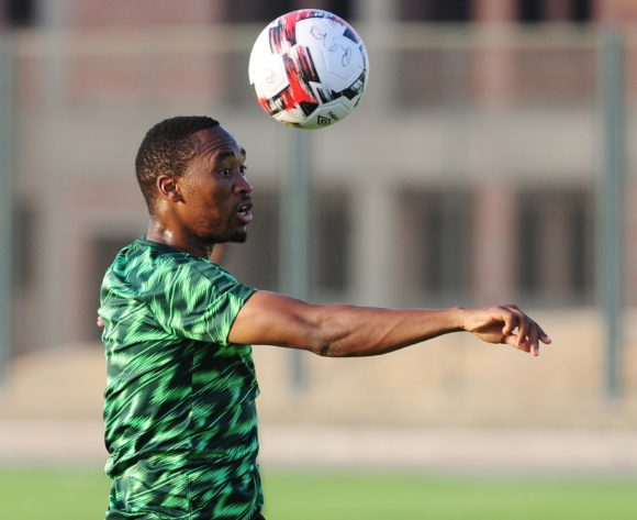 Sibusiso Vilakazi of South Africa during the 2019 Africa Cup of Nations Finals training session for South Africa at the Cairo Aero Sports Complex on 26 June 2019 © Ryan Wilkisky/BackpagePix