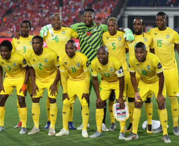 Zimbabwe Team picture during the 2019 Africa Cup of Nations Finals match between Uganda and Zimbabwe at Cairo International Stadium, Cairo, Egypt on 26 June 2019 ©Samuel Shivambu/BackpagePix