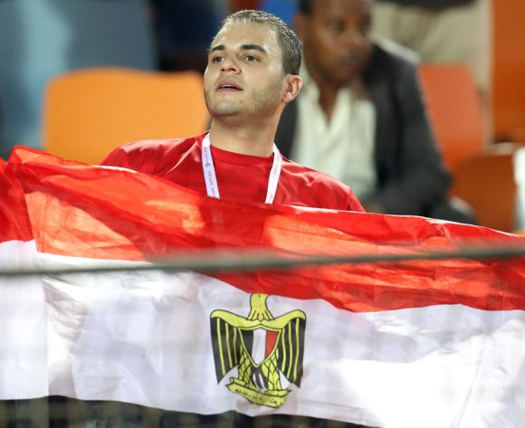 Egypt fan during the 2019 Africa Cup of Nations Finals match between Egypt and Dr Congo at Cairo International Stadium, Cairo, Egypt on 26 June 2019 ©Samuel Shivambu/BackpagePix