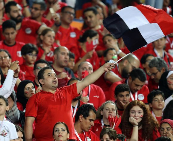 Egypt fans during the 2019 Africa Cup of Nations Finals match between Egypt and Dr Congo at Cairo International Stadium, Cairo, Egypt on 26 June 2019 ©Samuel Shivambu/BackpagePix