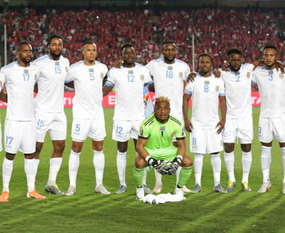 Dr Congo Team picture during the 2019 Africa Cup of Nations Finals match between Egypt and Dr Congo at Cairo International Stadium, Cairo, Egypt on 26 June 2019 ©Samuel Shivambu/BackpagePix
