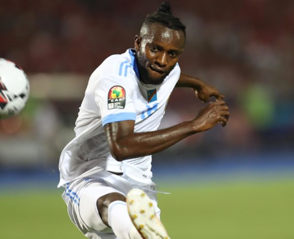 Merveille Bokadi Bope of DR Congo during the 2019 Africa Cup of Nations Finals match between Egypt and Dr Congo at Cairo International Stadium, Cairo, Egypt on 26 June 2019 ©Samuel Shivambu/BackpagePix