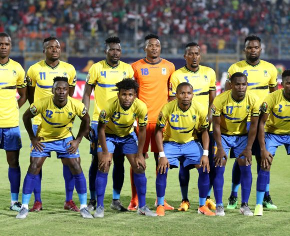 Tanzania Team pictures during the 2019 Africa Cup of Nations Finals match between Kenya and Tanzania at 30 June Stadium, Cairo, Egypt on 27 June 2019 ©Samuel Shivambu/BackpagePix
