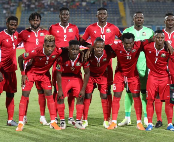 Kenya Team pictures during the 2019 Africa Cup of Nations Finals match between Kenya and Tanzania at 30 June Stadium, Cairo, Egypt on 27 June 2019 ©Samuel Shivambu/BackpagePix