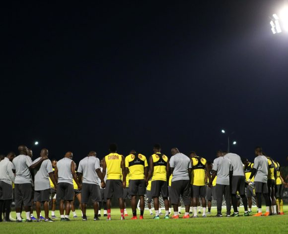 GV of Ghana team training during the 2019 Africa Cup of Nations Finals Benin Training at Ismailia Stadium,Ismailia,Egypt on 23 June 2019 ©BackpagePix