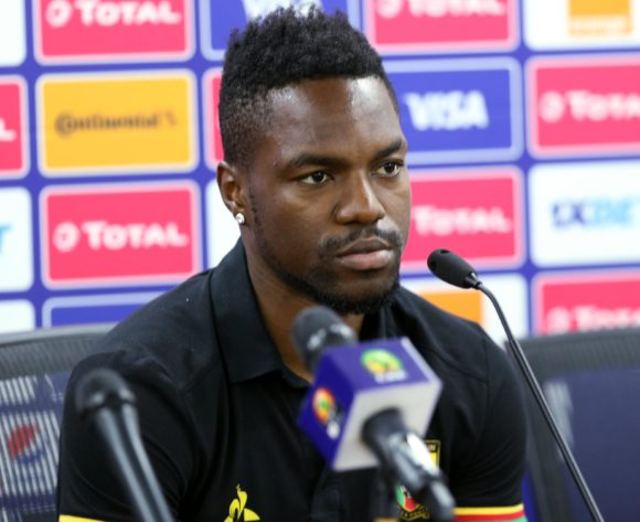 Georges Mandjeck of Cameroon during the 2019 Africa Cup of Nations Cameroon Press Conference at Ismailia Stadium in Ismailia, Egypt on 28 June 2019 © Guy Suffo/BackpagePix