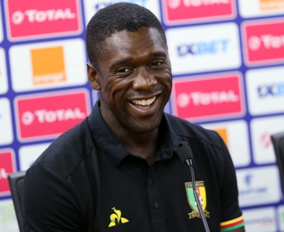 Clarence Seedorf Coach of Cameroon during the 2019 Africa Cup of Nations Cameroon Press Conference at Ismailia Stadium in Ismailia, Egypt on 28 June 2019 © Guy Suffo/BackpagePix
